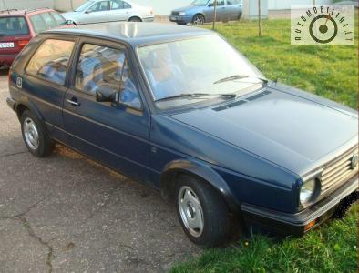 VW GOLF 1987m. TA iki 2010-08-29